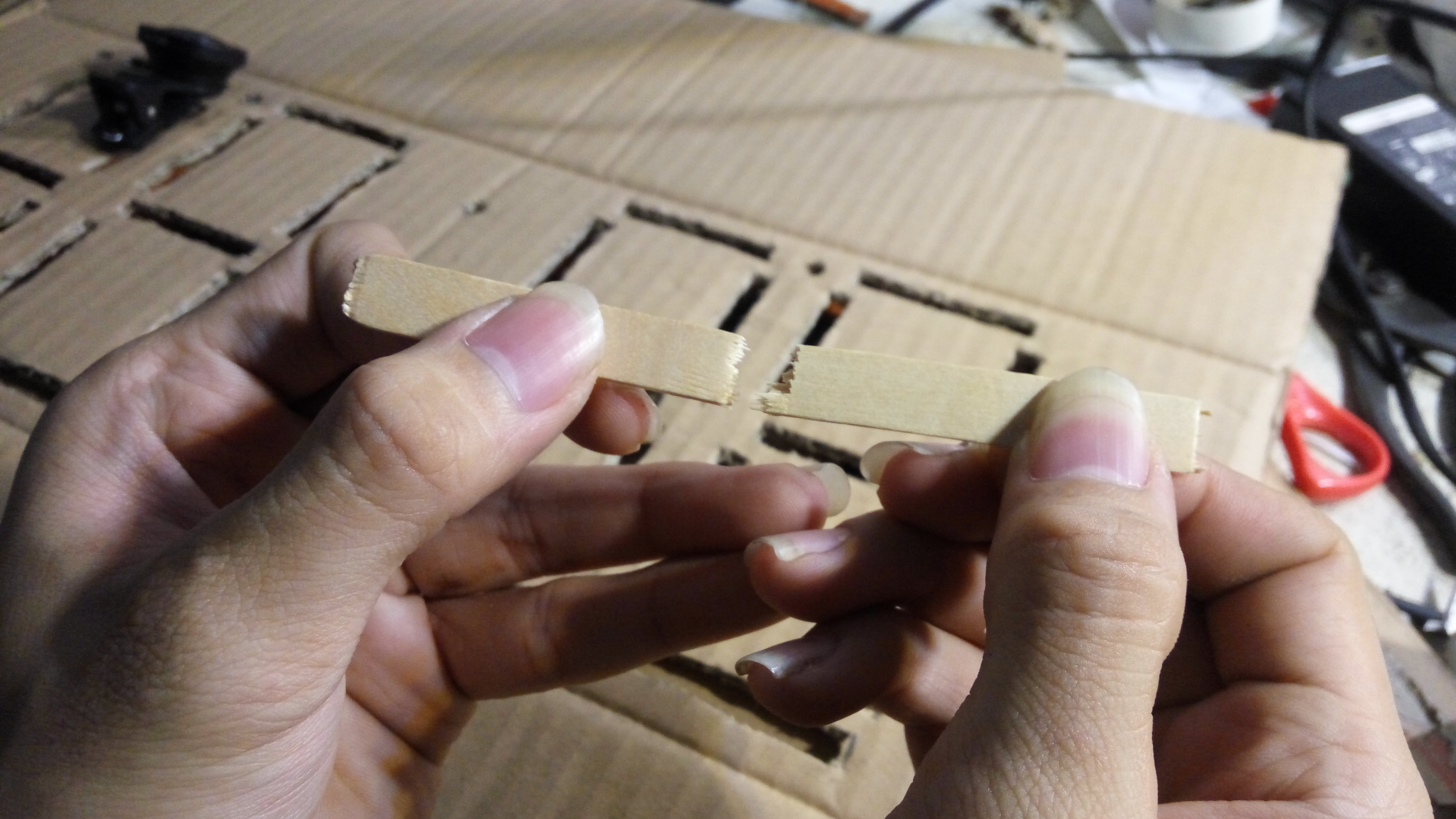 Picture of Making Divider for Each Segments