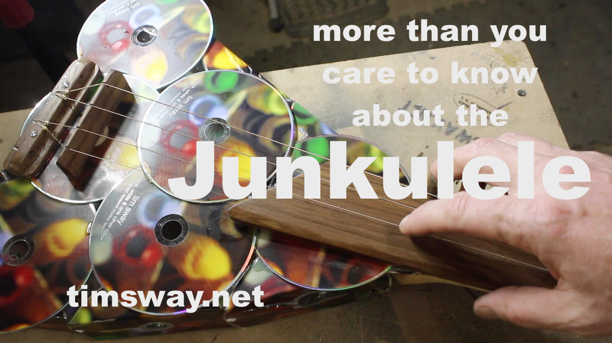 Picture of Make a Ukulele From Old Compact Discs (CDs)