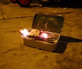 Altoids Portable BBQ !!