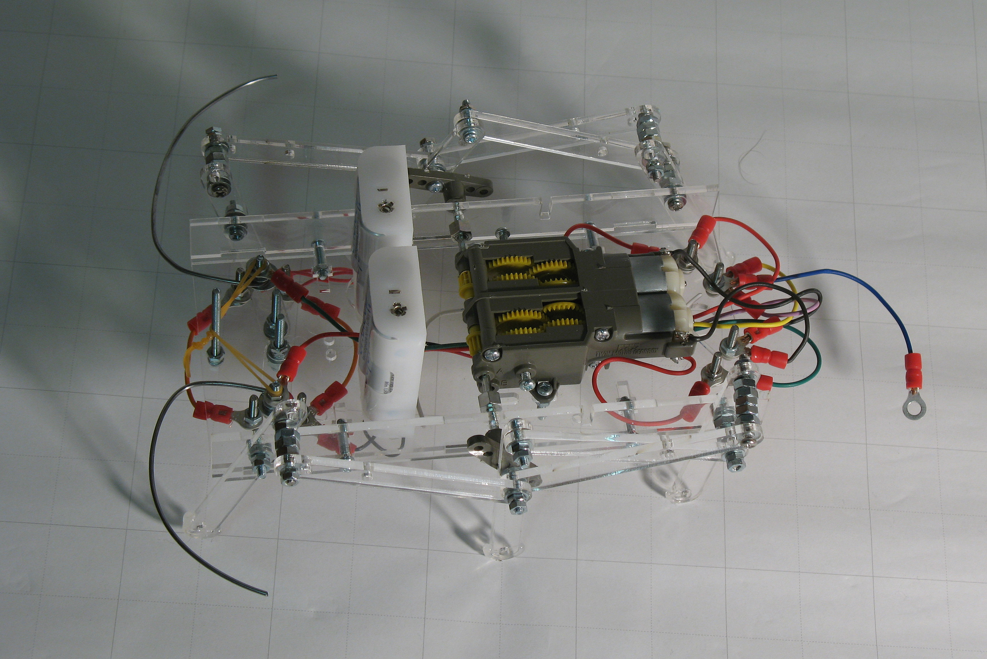 Picture of How to Make an OAWR (Obstacle Avoiding Walking Robot)