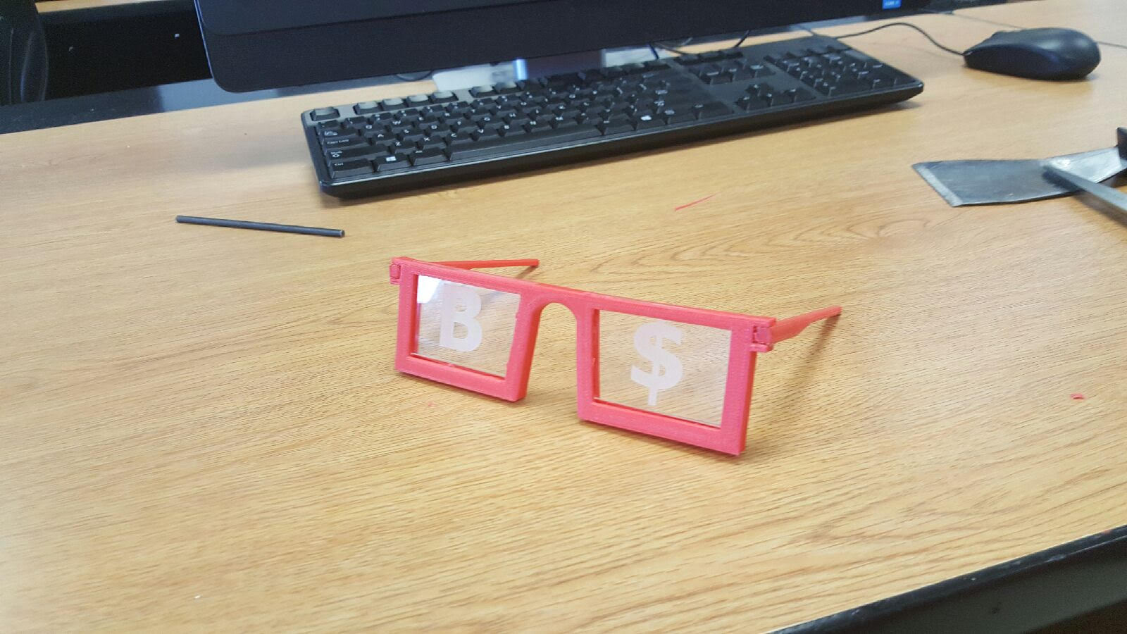 Picture of 3D-printed Glasses
