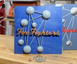 Wooden Foo Fighters Album Cover