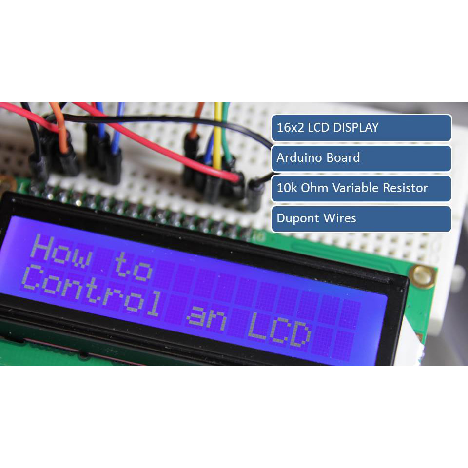 Picture of How to Control an LCD Display the Easy Way - Arduino Tutorial
