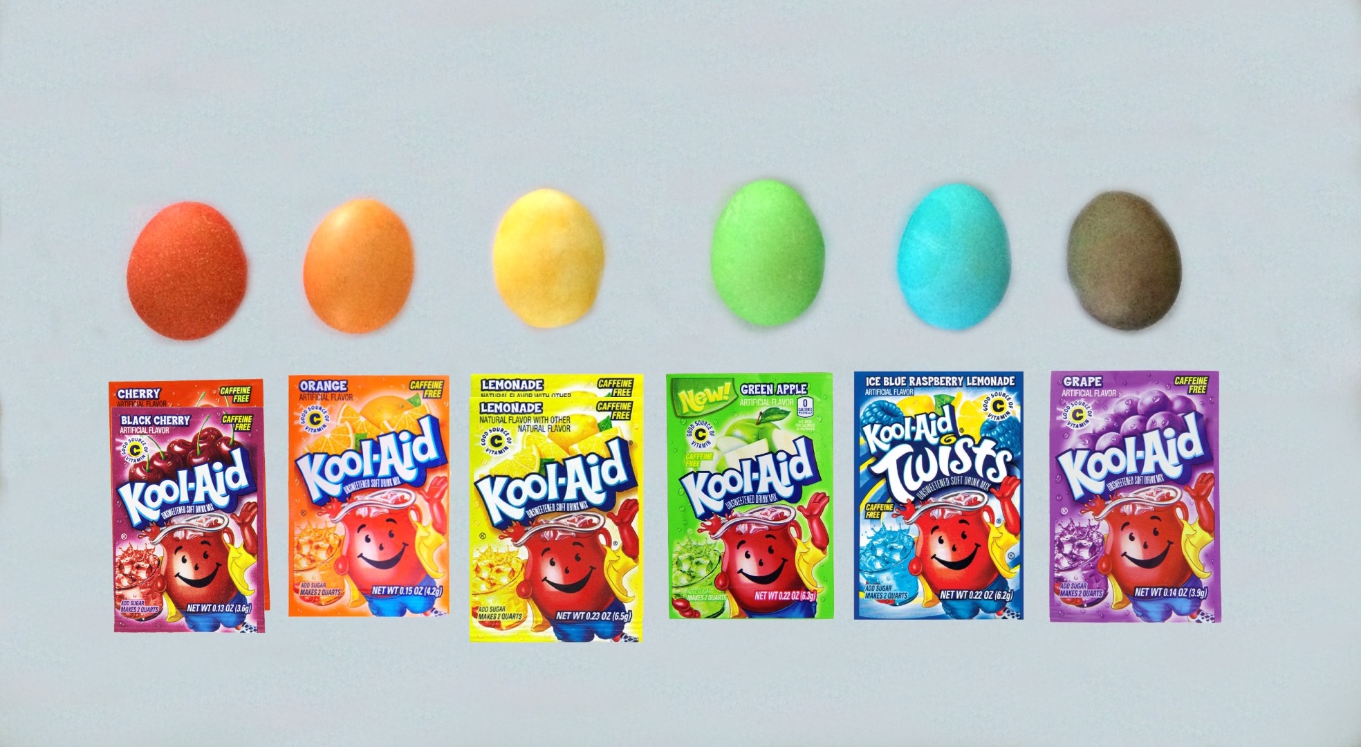 Picture of How to Dye Easter Eggs With Kool-Aid