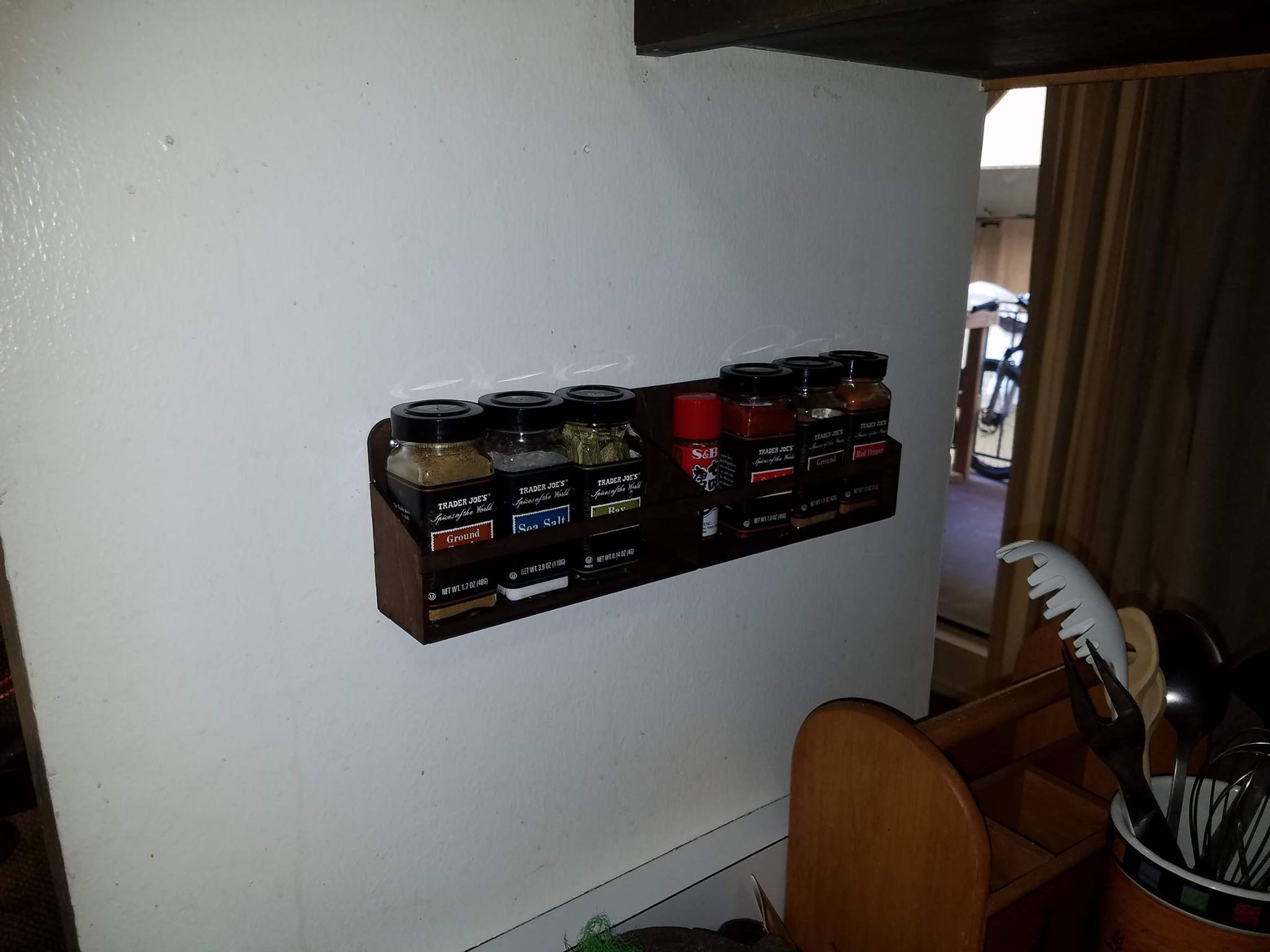 Picture of Laser Cut Spice Rack
