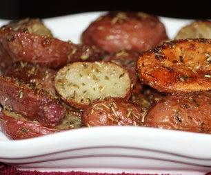 Roasted Red Skin Potato