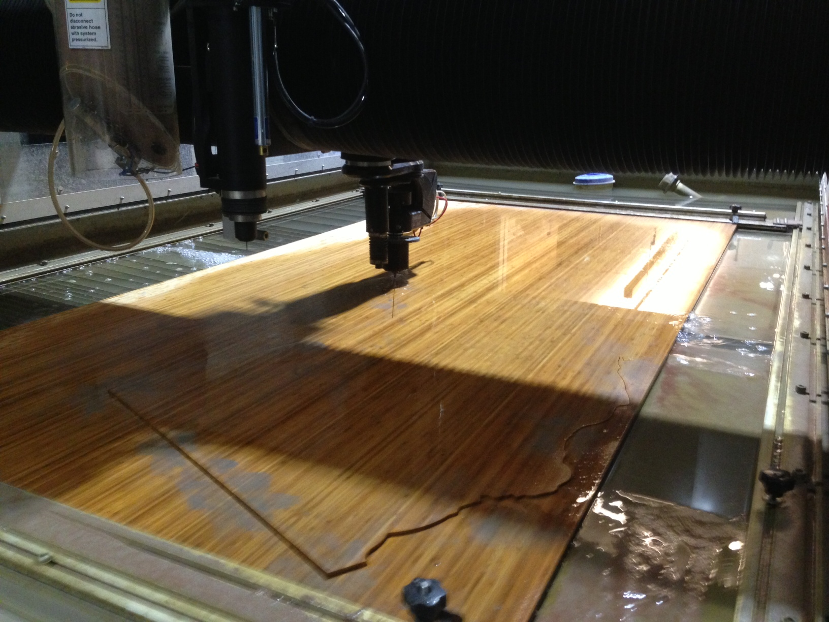 Picture of Cutting the Plyboo