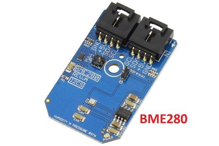 Humidity,Pressure and Temperature Computation Using BME280 and Photon Interfacing.