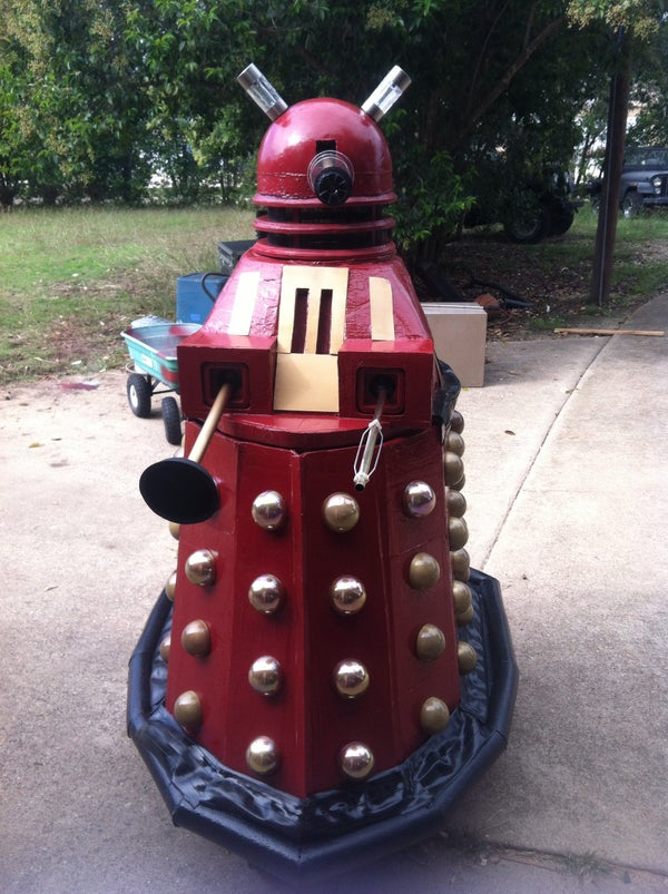 Dr Who Dalek Costume