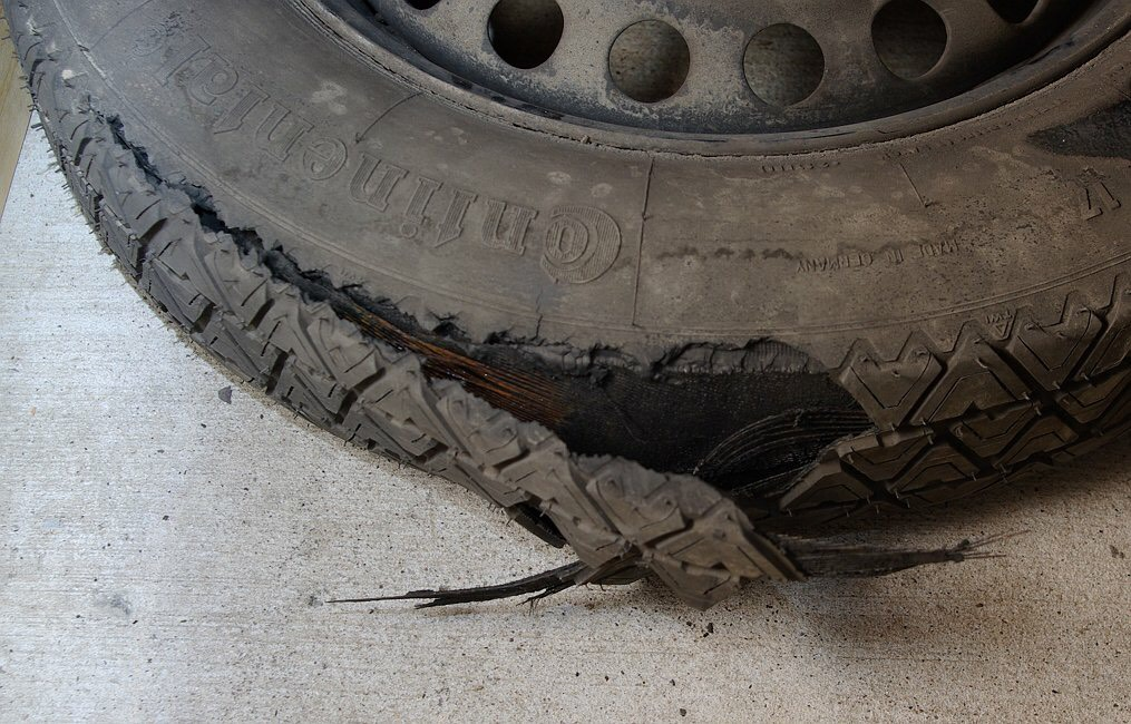 Picture of How to Fix a Broken Tire