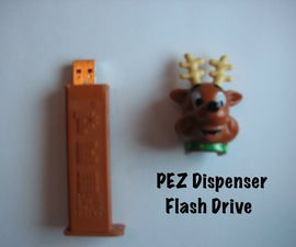 PEZ Dispenser Flash Drive