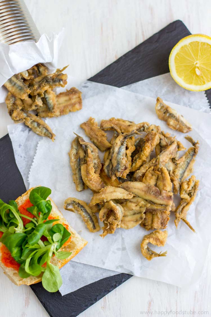 Picture of Deep Fried Anchovies