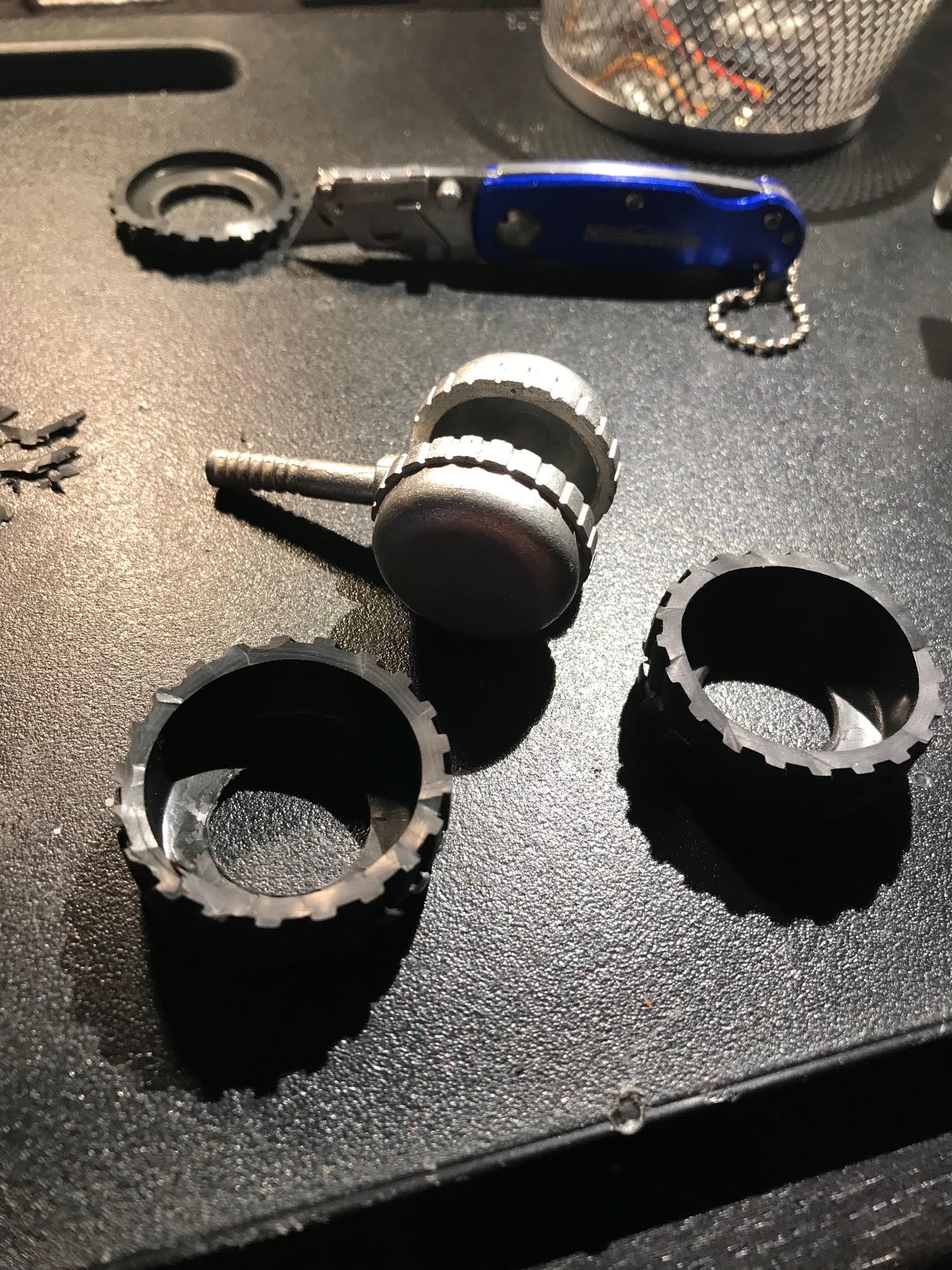 Picture of Modification of the Rear Tire Assembly