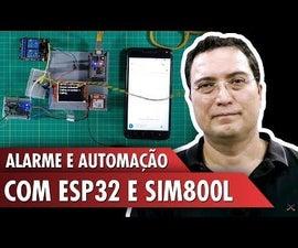 ESP32: SIM800L and Barrier Sensor