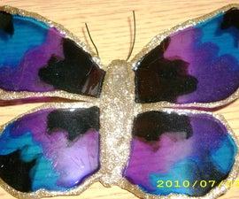 Beautiful Pop Bottle Butterflies