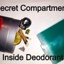 Secret Deodorant Stick Compartment