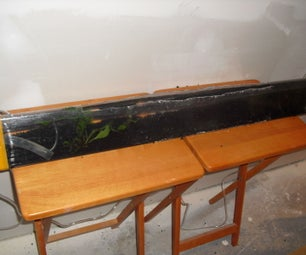 Up-cycled Shrimp Tank With Filter