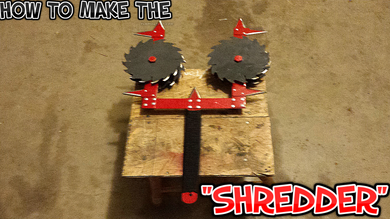 "Picture of HOW TO MAKE THE ""SHREDDER"""