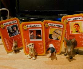 Magnetic Animal Photo Holders