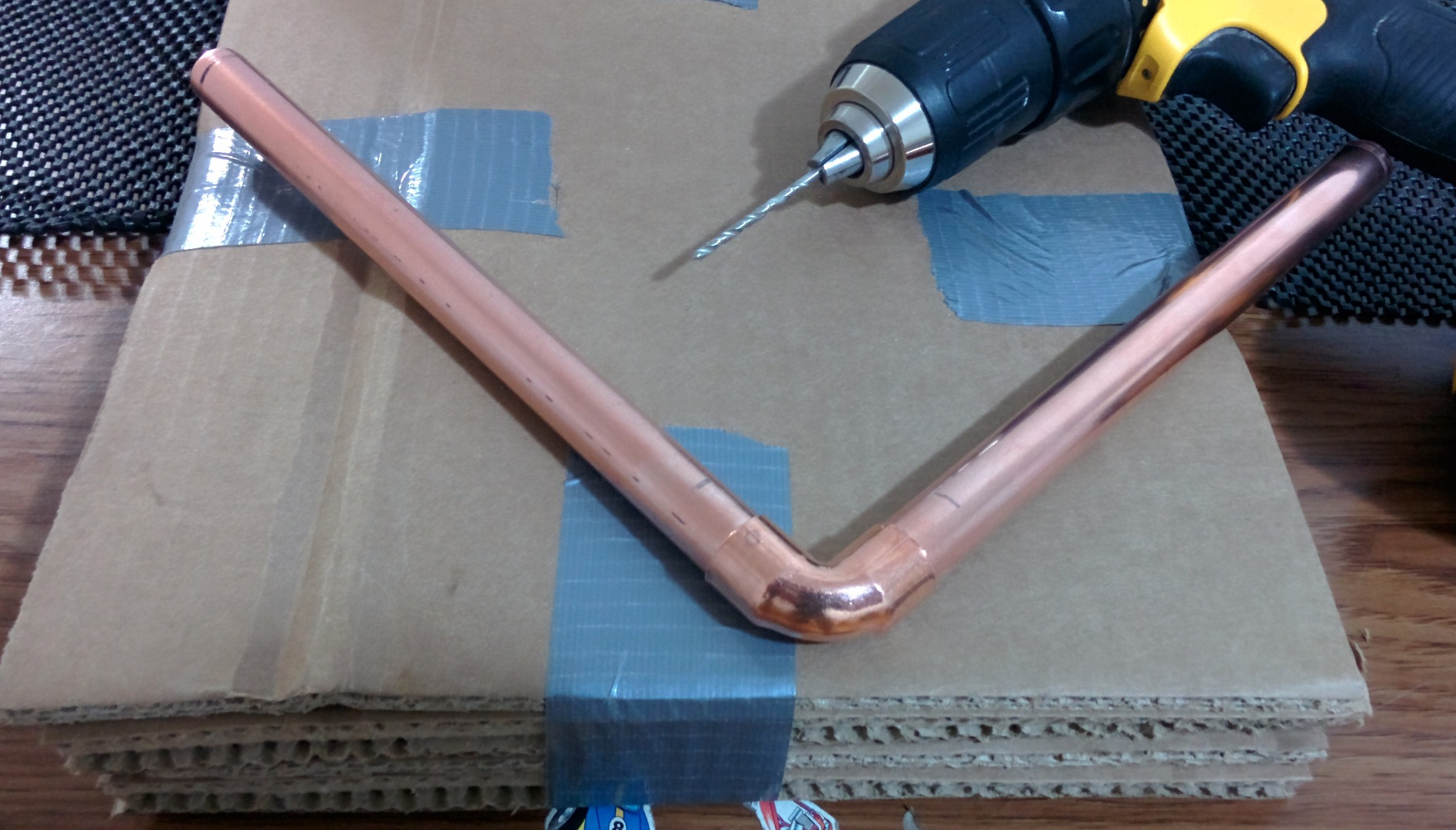 Picture of Preparing the Pipes and Building the Frames