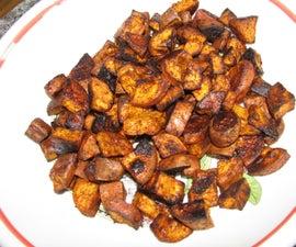 Roasted Sweet Potato Bites