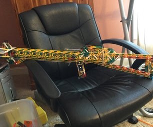 The Scorpion a K'nex Slingshot Crossbow