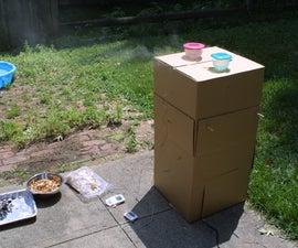 How to Make a Cardboard Smoker