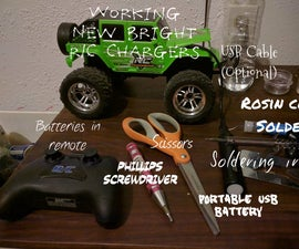 New Bright R/C Chargers Easy Battery Upgrade
