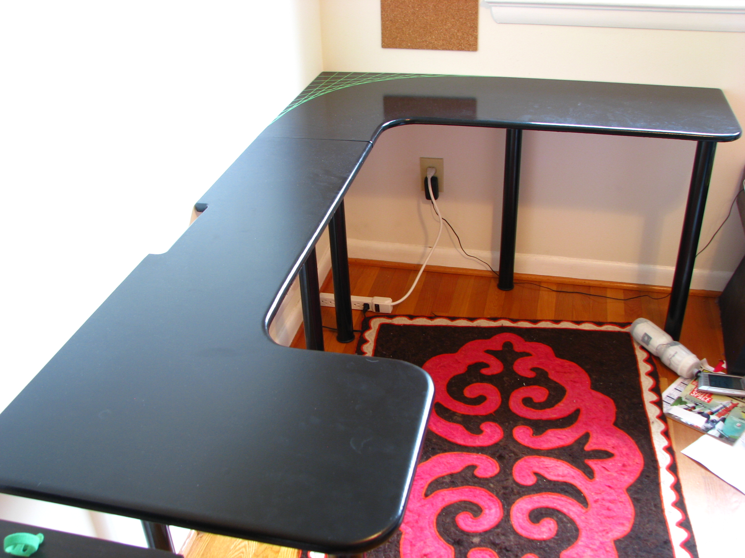 Low Cost Computer Desk 8 Steps With Pictures