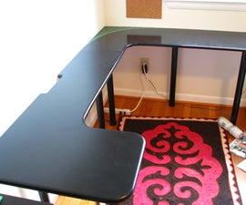 Low Cost Computer Desk