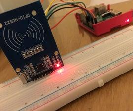 Raspberry Pi 3 Model B & MIFARE RC522 RFID Tag Reading