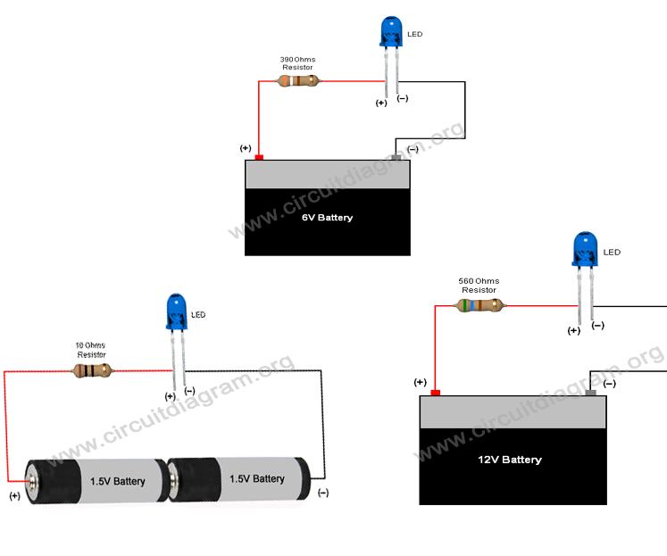 [SCHEMATICS_48DE]  Simple Basic LED Circuit (How to Use LEDs) : 4 Steps - Instructables | L E D Circuit Diagram |  | Instructables