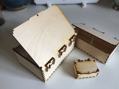 Variable Sized Laser Cut Box Plans (Apple Mac Users, Only)