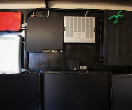 The Wall (wall mount your game consoles / monitors / devices)