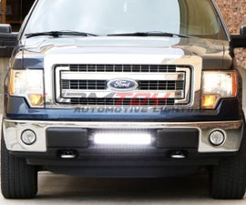 How To Install Offroad LED Light Bar w/ Relay & Switch