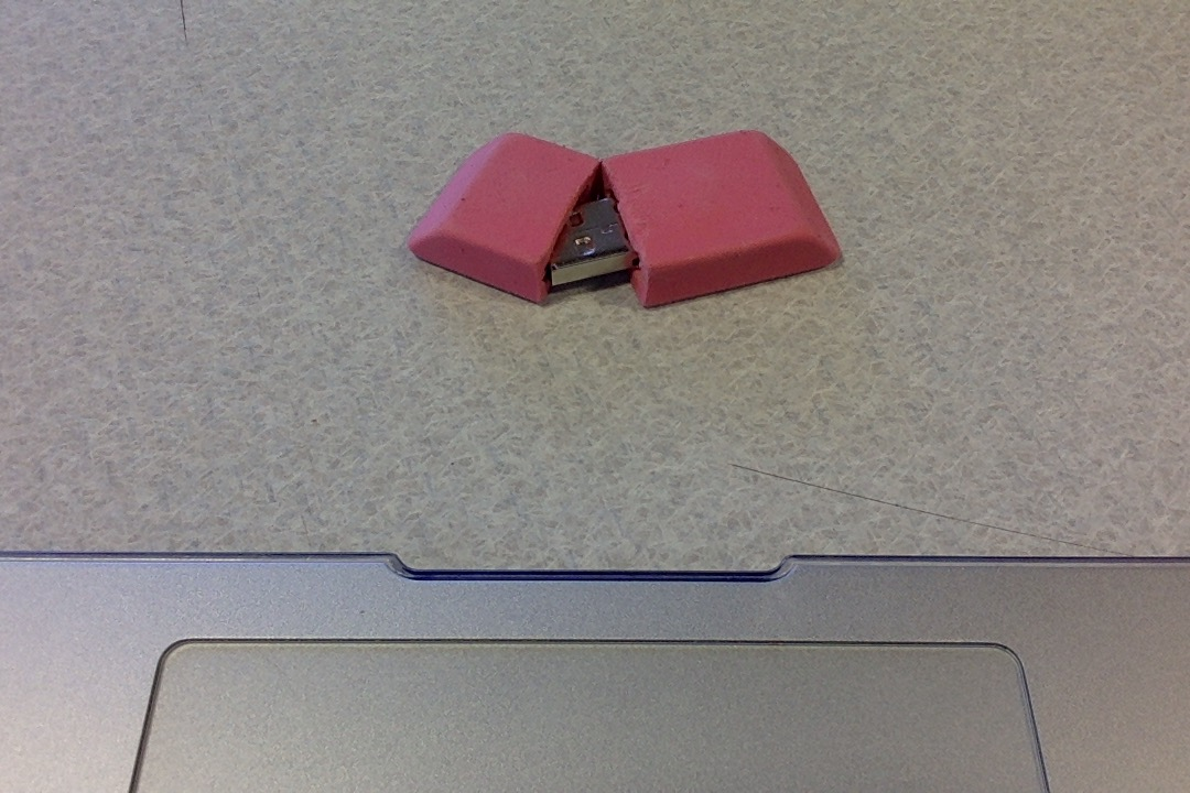 Picture of Method 1: in the Eraser