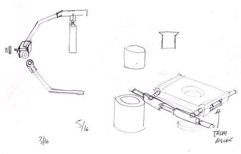 3d Printed Merlin Style Steadicam: MO-FLO 1.0 : 5 Steps