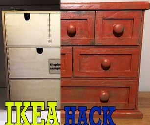Ikea Hack : Moppe Drawers to Farmhouse Style by BCDesign01