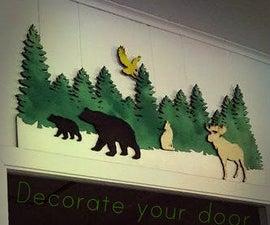 Decorate your doorway- Go over the top