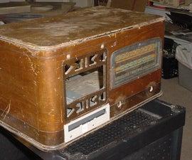 1940 Radio Computer Case