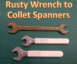 Rusty Wrench to Collet Spanners