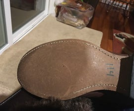 Fix the broken stitching on cowboy boots