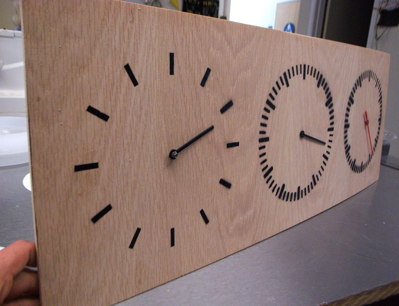 Picture of Three Part Clock