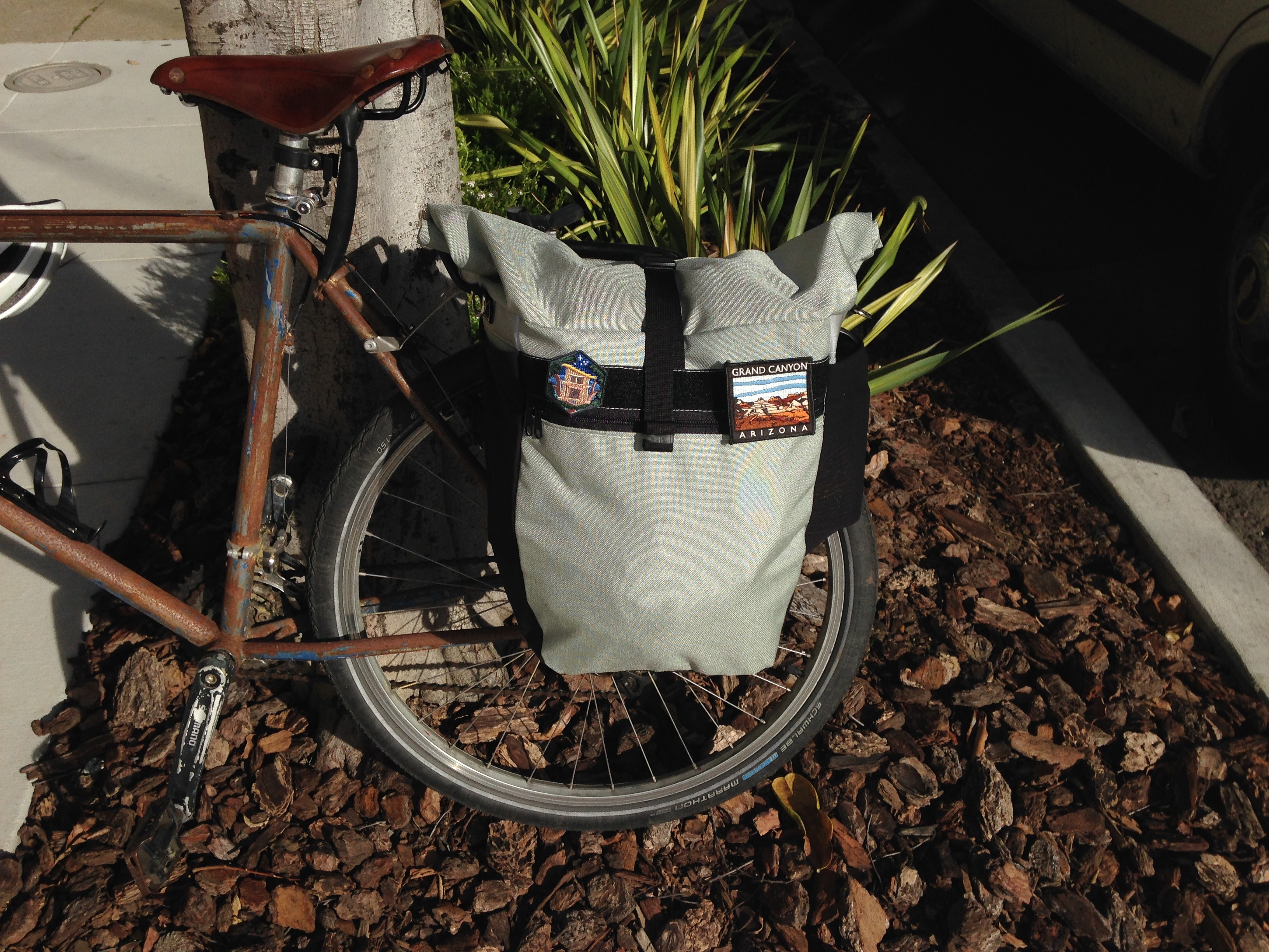Picture of Bike Pannier From Scratch Using a Home Sewing Machine