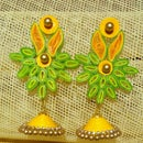 How to make QUILLED EARRING