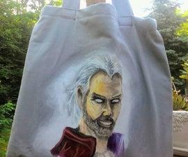 Save the Planet! DIY Canvas Bag