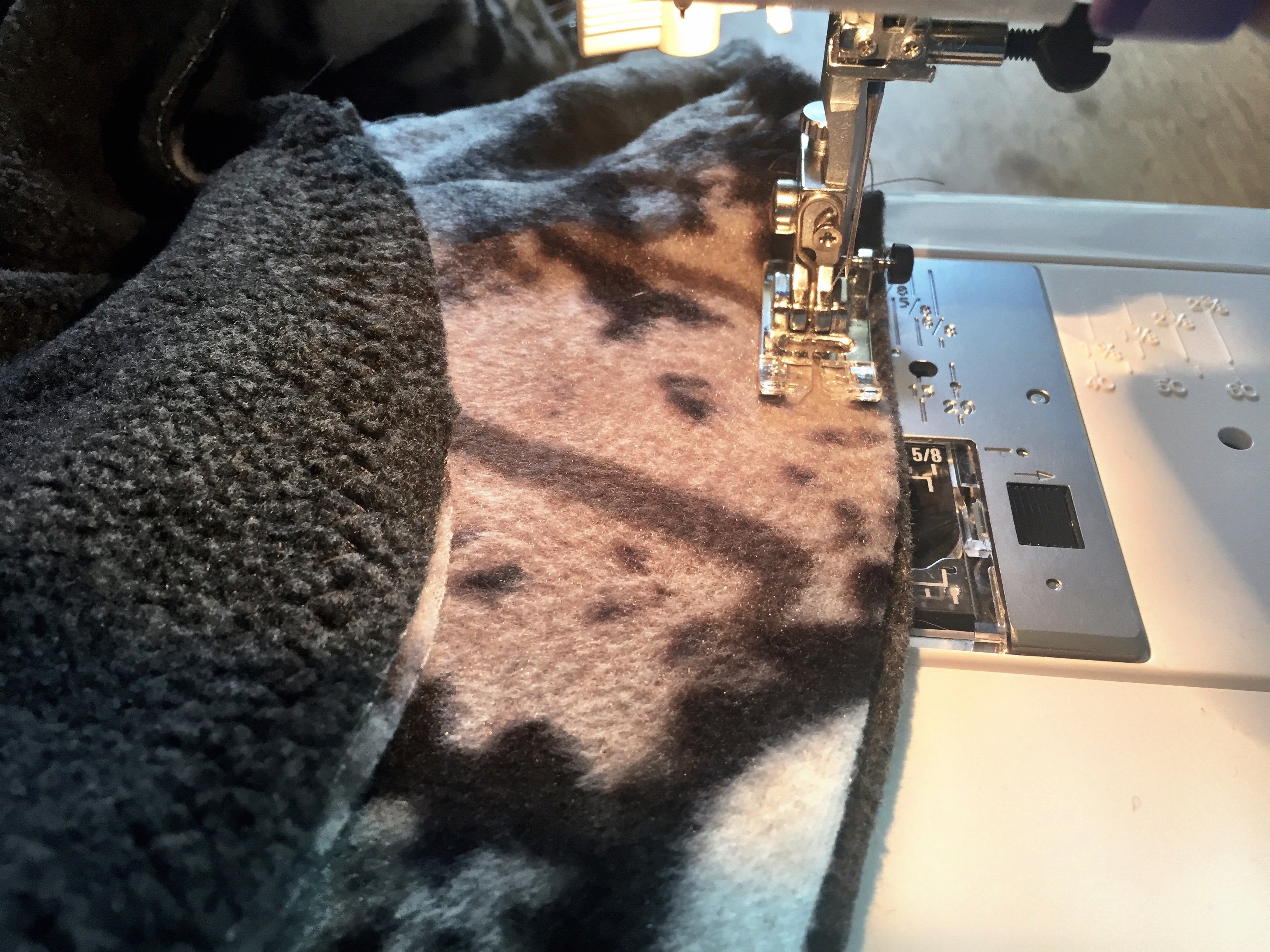 Picture of  Finish With a Zigzag Stitch and Trim