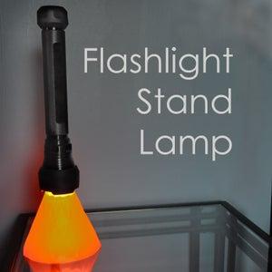 Flashlight Stand Lamp