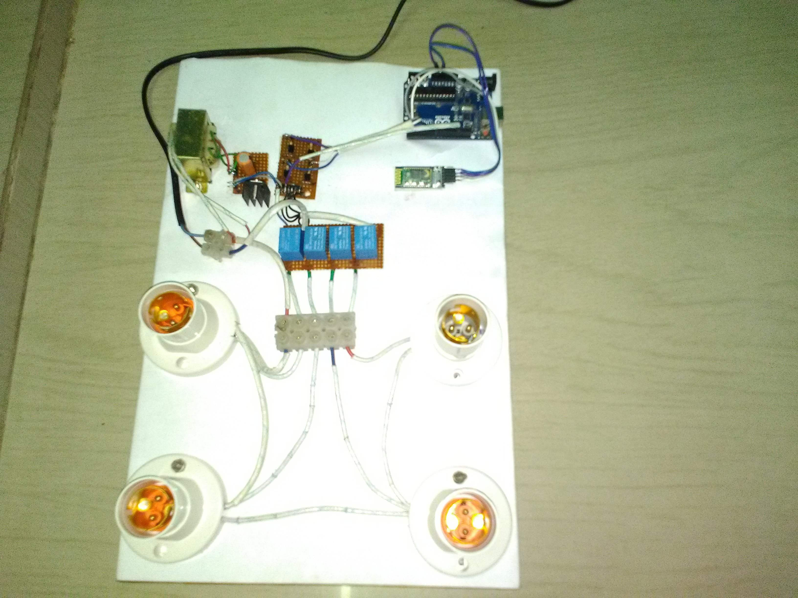 Picture of Mobile Controlled Smart Home Automation