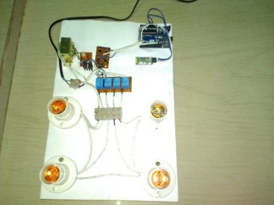 Mobile Controlled Smart Home Automation